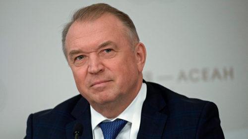 Präsident der Handels- und Industriekammer der Russischen Föderation Sergey Katyrin